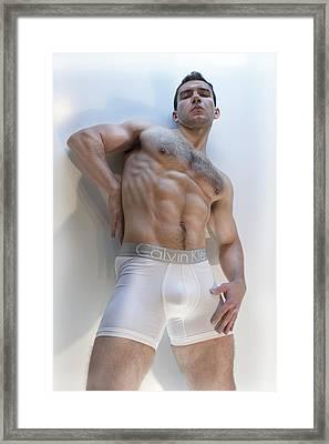 Masculinity Framed Print by John Clum