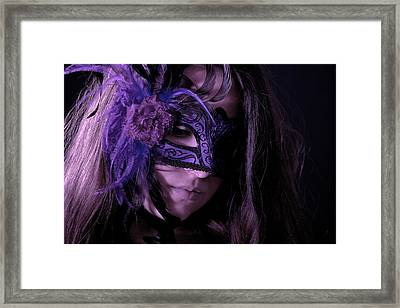 Mask Framed Print by Joana Kruse