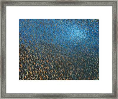 Mass Ascension Framed Print by De Es Schwertberger