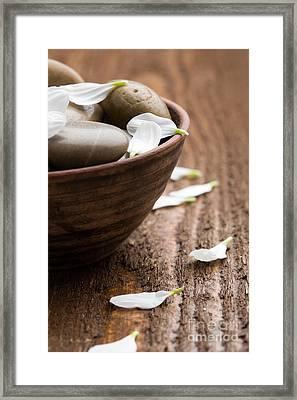 Massage Stones  Framed Print by Kati Molin