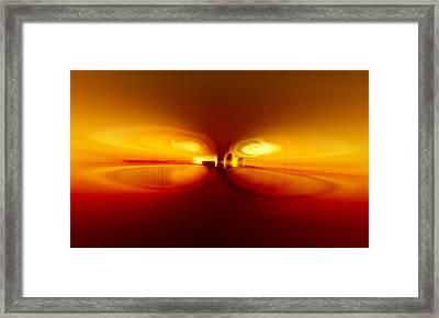 Match Framed Print by Li   van Saathoff