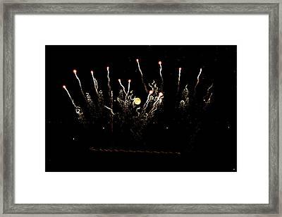 Match Sticks  Framed Print by Justin Tucker
