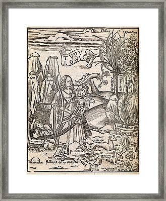 Mathematical Logic, 1503 Framed Print by Middle Temple Library