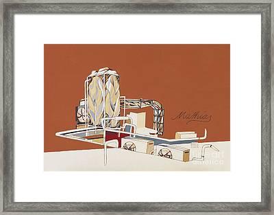 Mathias Framed Print by Florian Divi