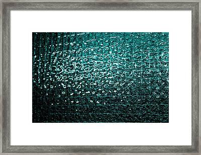 Matrix Framed Print by Leigh Meredith
