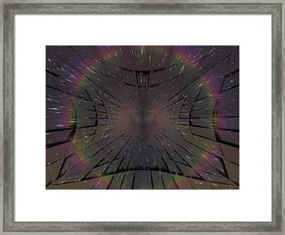 Matrix Framed Print by Tim Allen