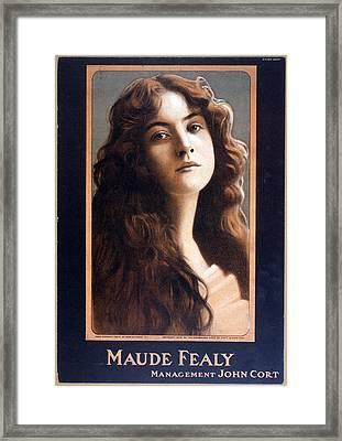 Maude Fealy 1881-1971, American Framed Print by Everett