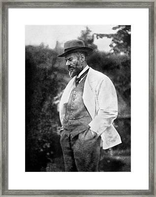 Max Weber 1864-1920 Framed Print by Granger