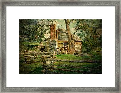 Mccormick Grist Mill Framed Print by Kathy Jennings