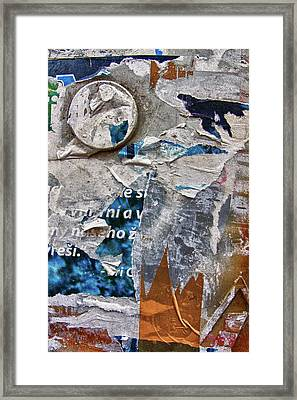 Media Coverage Framed Print by Jason Wolters
