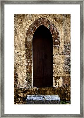 Medieval Welcome Framed Print by Cecil Fuselier