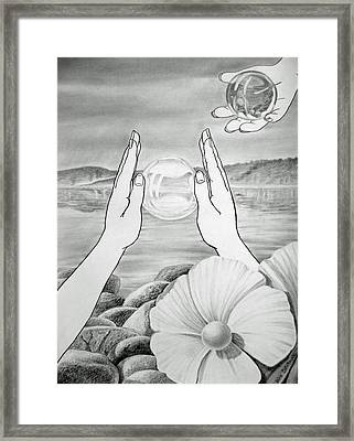 Meditation  Framed Print by Irina Sztukowski