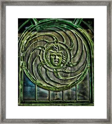Medusa Framed Print by Colleen Kammerer