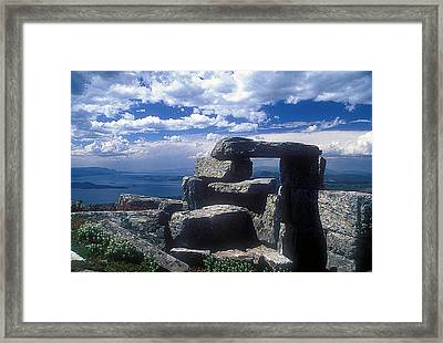 Megalithic View Framed Print by Andonis Katanos