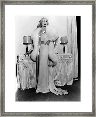 Melody In Spring, Ann Sothern, 1934 Framed Print by Everett