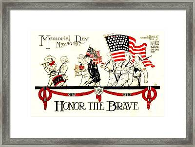 Memorial Day Framed Print by Pg Reproductions