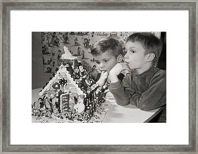 Memories Of A Special Christmas Framed Print by Christine Till