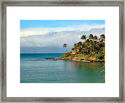 Memories Of Maui Framed Print by Lynn Bauer