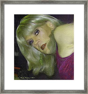 Mercy Framed Print by Wayne Bonney