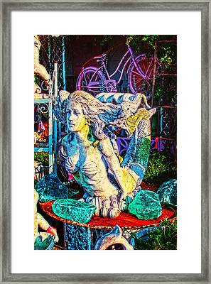 Mermaid Framed Print by Toni Hopper
