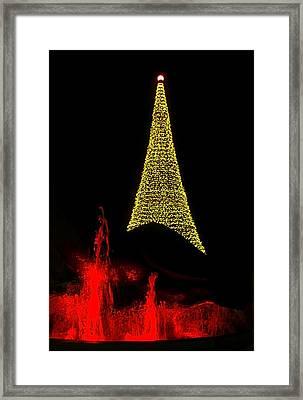 Merry Christmas ... Framed Print by Juergen Weiss