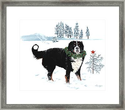 Merry Christmas Framed Print by Liane Weyers