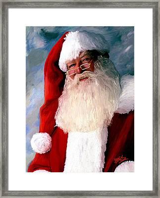 Merry Xmas Framed Print by James Shepherd