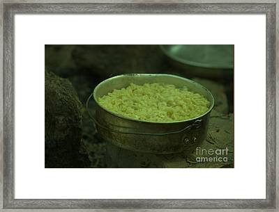 Mess Call Framed Print by The Stone Age