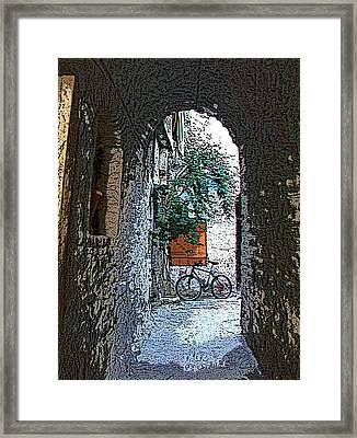 Mesta-3 Framed Print by Rezzan Erguvan-Onal
