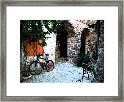 Mesta-4 Framed Print by Rezzan Erguvan-Onal