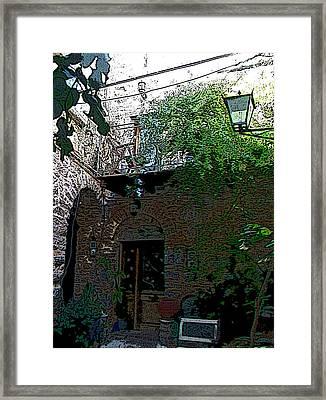Mesta-6 Framed Print by Rezzan Erguvan-Onal