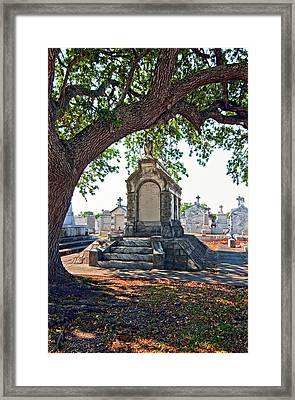 Metairie Cemetery Framed Print by Steve Harrington