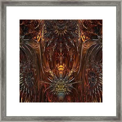 Metal Dragons Framed Print by Lyle Hatch