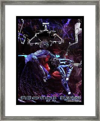 Metal Eve Framed Print by Rebecca Stephens