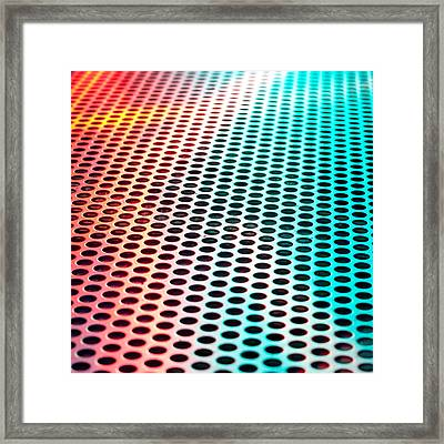 Metal Sheet Framed Print by Tom Gowanlock
