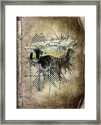 Mg Tc Roadster Framed Print by Svetlana Sewell