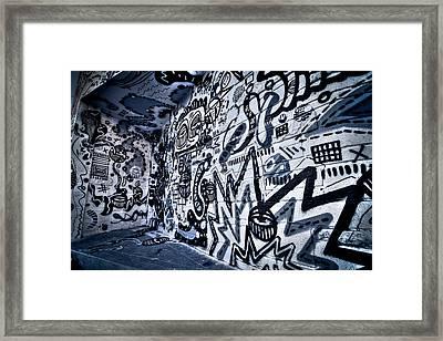 Miami Wynwood Graffiti 2 Framed Print by Andres Leon