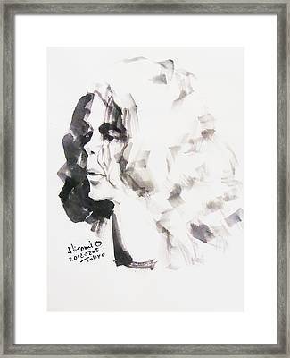 Michael - This It It Framed Print by Hitomi Osanai