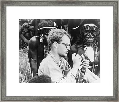 Michael C. Rockefeller 1934-1961 Framed Print by Everett