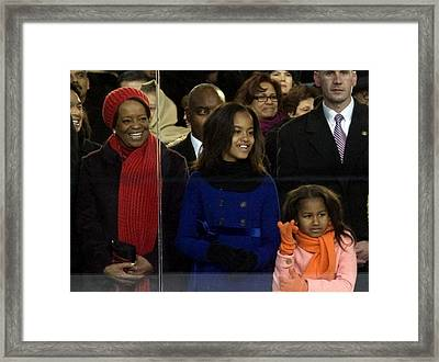 Michelle Obamas Mother Marian Shields Framed Print by Everett