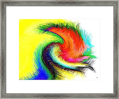 Micro Linear 25 Framed Print by Will Borden