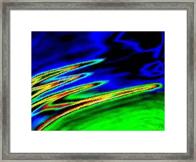 Micro Linear 26 Framed Print by Will Borden