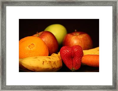 Mid Night Snack Framed Print by Andrea Nicosia