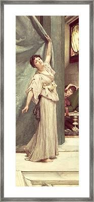Midday Slumbers  Framed Print by Sir Lawrence Alma-Tadema