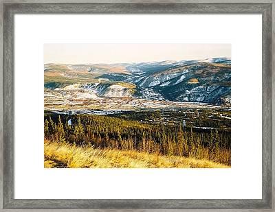Midnight Dome - Dawson City Framed Print by Juergen Weiss