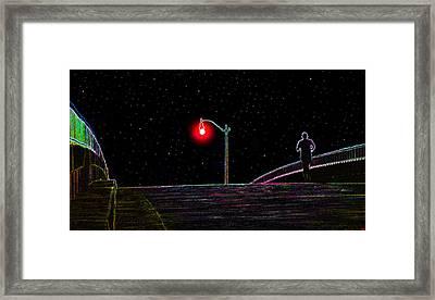 Midnight Run Framed Print by David Lee Thompson