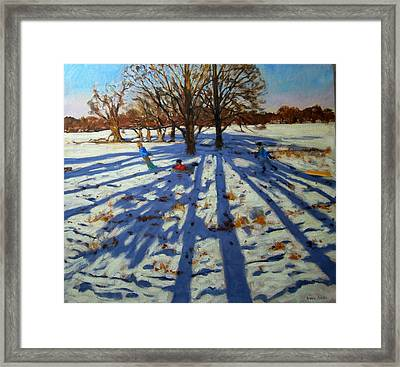 Midwinter Framed Print by Andrew Macara