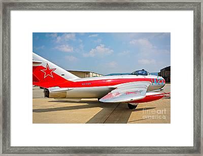 Mig-17f Fresco C 17qs Framed Print by John Waclo