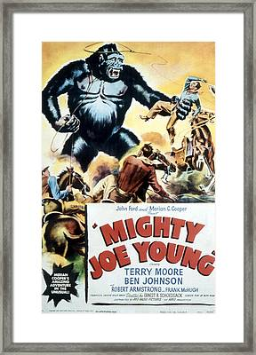 Mighty Joe Young, 1949 Framed Print by Everett