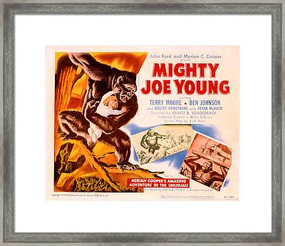 Mighty Joe Young, Terry Moore, 1949 Framed Print by Everett
